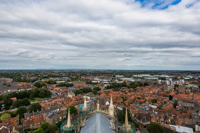 View of York from York Minster Tower