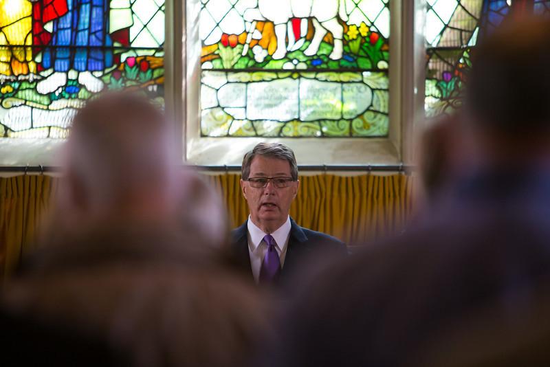 Robert Godfrey at The Round Church