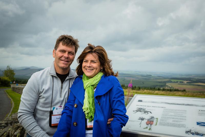 Tour A at England Scotland Border