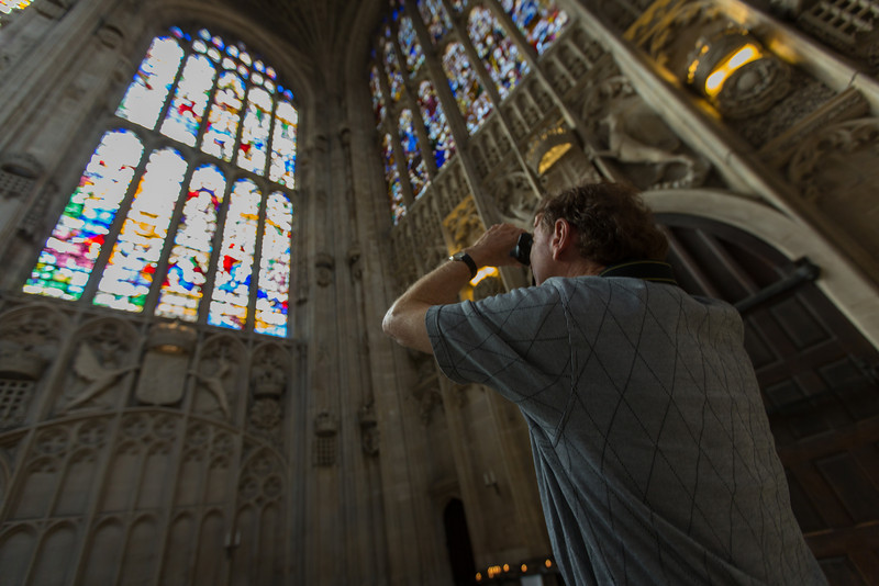 Tour A at King's College Chapel