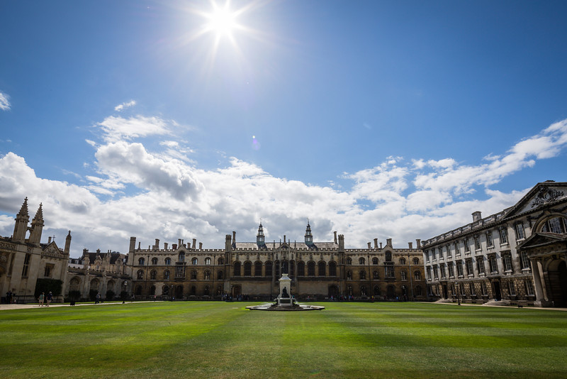 King's College Chapel Courtyard