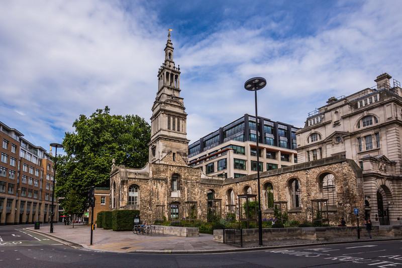 Christ Church Greyfriars Ruins