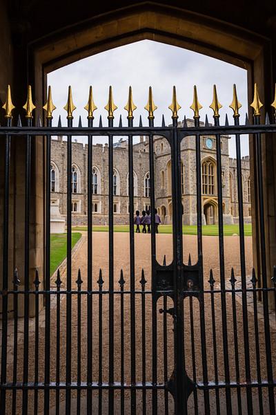 Guards at Windsor Castle