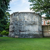 Roman Tower in York Museum Gardens
