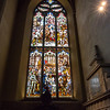Stained Glass Depicting John Knox Preaching