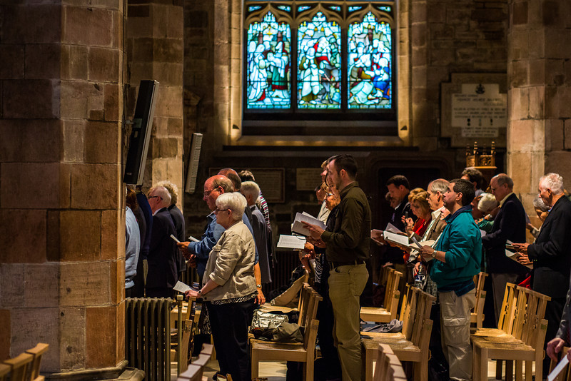 Worship Service in the High Kirk