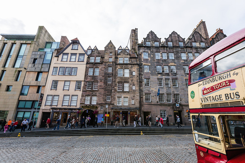 Tour A on the Royal Mile
