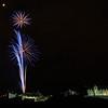 Military Tattoo Fireworks Over Edinburgh Castle