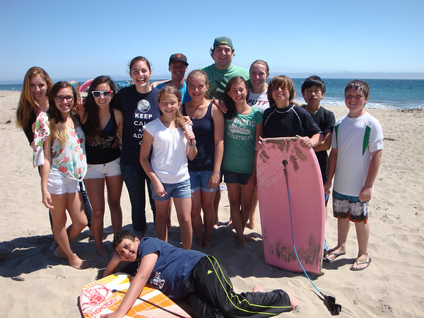 Jr. High Beach Day 2013