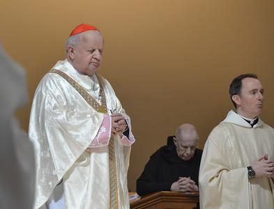 2013 Cardinal Dziwisz Visits Saint Vincent