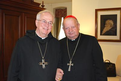 2013 Cardinal Dziwisz visits Saint Vincent Seminary.