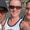 Women's Div 4 team before the start
