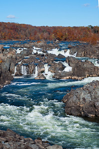 Great Falls Park Virginia Side October 2013