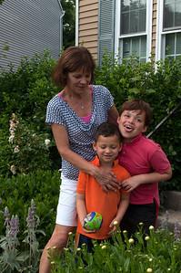 Mama, Lukas, und Magnus Juni 2013
