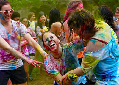 May - Each year, Princeton students host multiple (!) Holi celebrations.