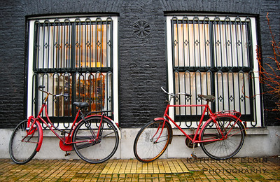 January - This photograph is from Amsterdam. Though I had a serious bike accident a few years ago and still prefer not to touch bikes, I find them fascinating photographically.