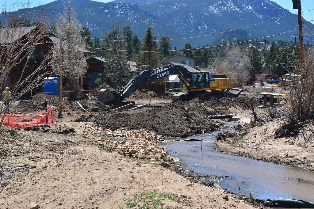 . It took years to restore Fish Creek road