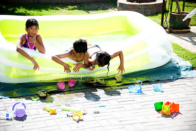 Backyard Pool: July 14, 2013