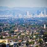 A view of Los Angeles (from the top of Hilltop Park - Signal Hills)