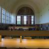 Library interior.