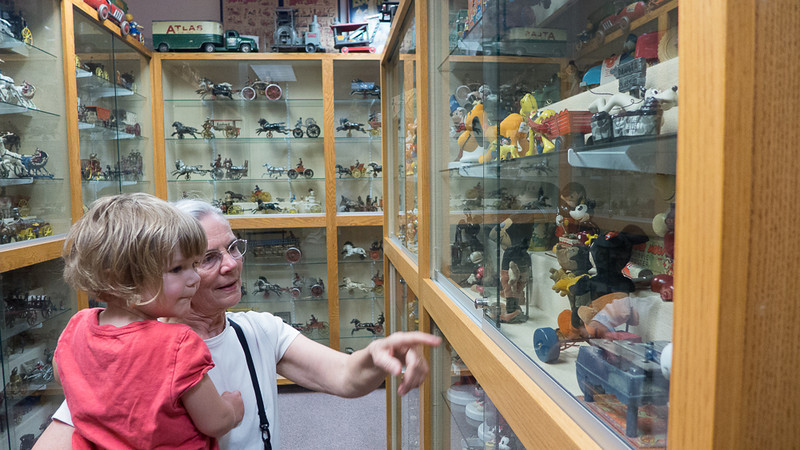 A visit to an heriloom toy museum in Portland.