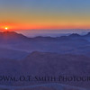 Sunrise from the top of Mt. Sinai