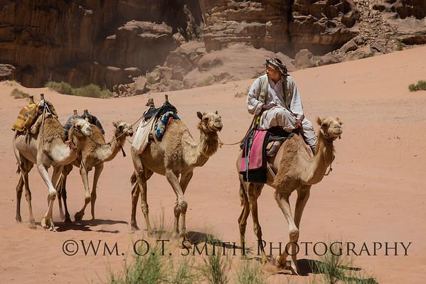 Bedouin in Wadi Rum.