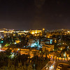 Jerusalem, the city of David at night!