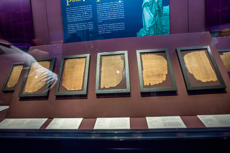 Paul's Letters on Papyrus, AD 200