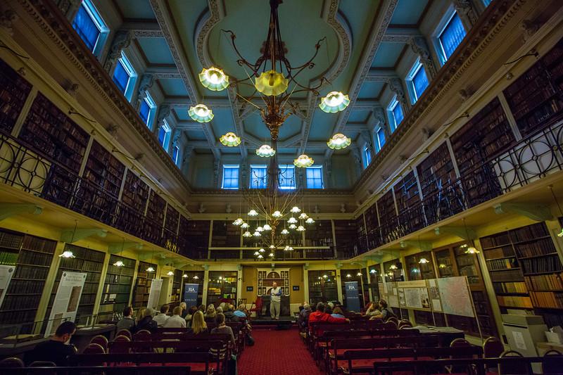 Lecture at the Royal Irish Academy