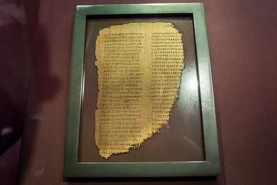 Genesis Papyrus, AD 250