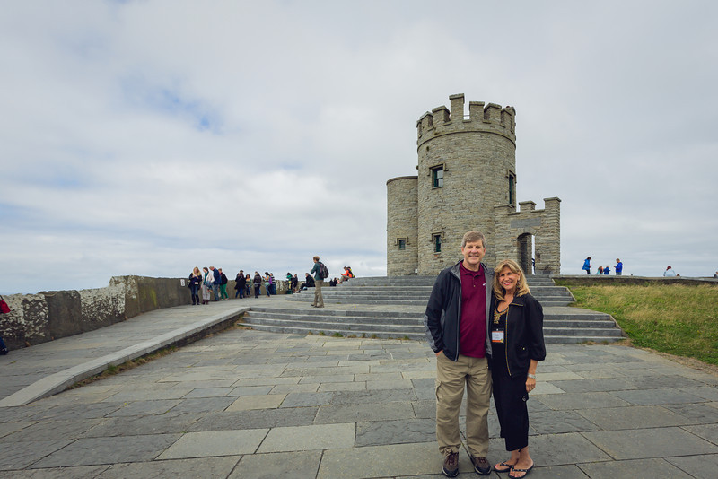 Tour at Cliffs of Moher