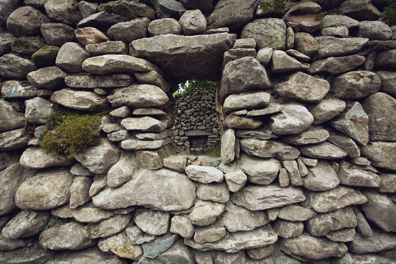 Traditional Irish Home Ruins
