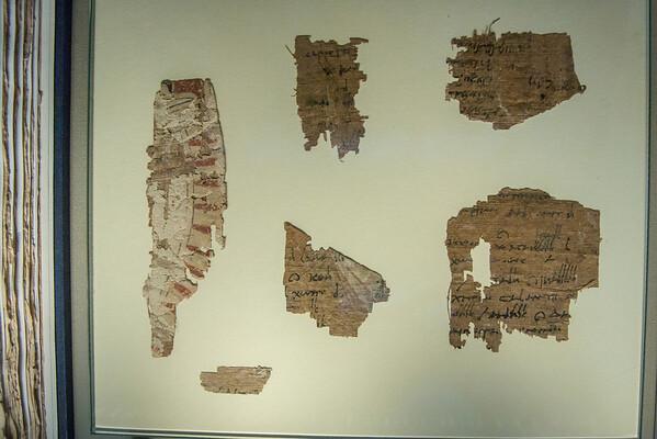Greek Papyrus, 262-200 BC