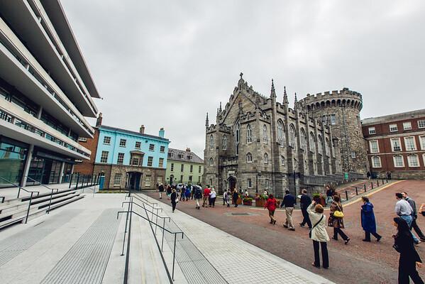 Tour at Dublin Caslte