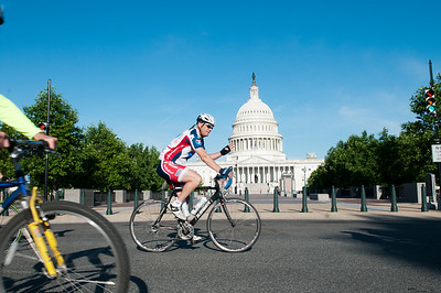 Participants kick off the 2013 Ride 2 Recovery Memorial Challenge at the U.S. Capitol in Washington, D.C. As a 501(c)(3) organization, R2R helps injured active duty service members and veterans improve their health and wellness through individual and group cycling.