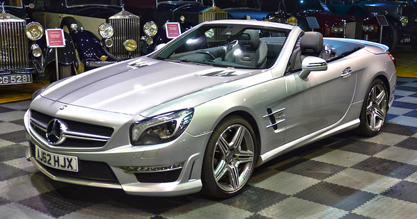 2013 Mercedes-Benz SL 63 AMG Bi Turbo AJ62 HJX