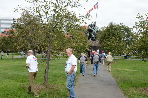 Marine Corps Memorial by Brian