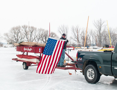 US Flag | BOE Skeeter Trailer
