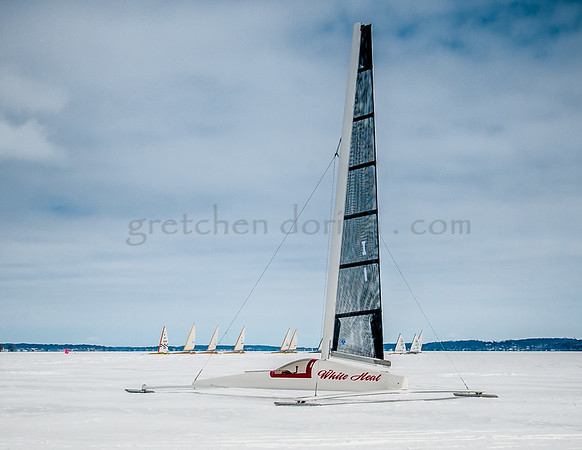 White Heat | Buddy Melges  (lunch break - waiting for the wind)