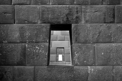 The best quality stonework can be found the few remaining walls inside Qurikancha, the most important temple within the Inca Empire