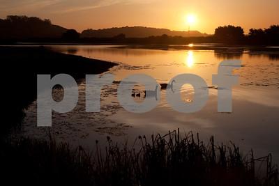 Day 135 - Sunrise, Corte Madera Marsh Ecological Reserve