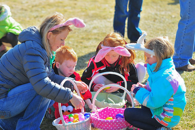 Kids Count their Easter Eggs