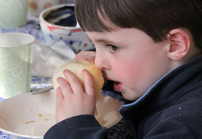 IMG_2688 nathaniel flockton,5, with bread