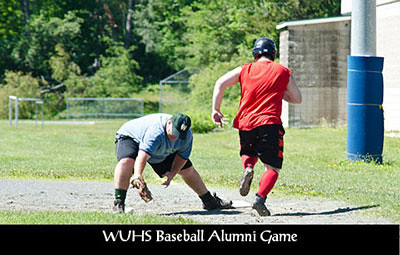 WUHS Alumni Baseball Game