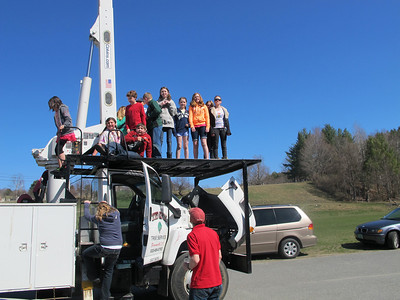 IMG_2454- students on Knox Tree Service truck