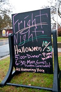 Reading's Fright Night