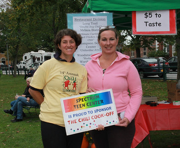 Heather Rubenstein and Joni Kennedy, Directors of Spectrum Teen Center