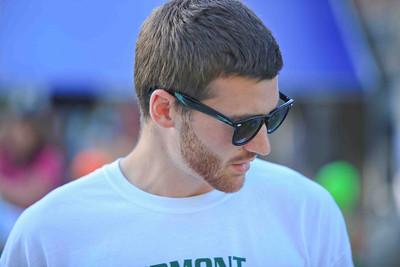 Woodstock Swim Team coach Ben Stockwell