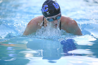 Corrie Presland-Byrne does the 100 meter breast stroke 2